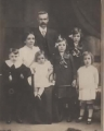 Family c1914 Wilfred, Sarah, Lena, Frederick, Bessie, Eva, Edith