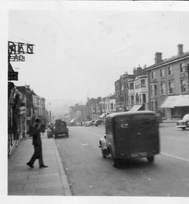 Market Hill, Halstead, 1955